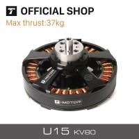 T-Motor 37KG+ Thrust U15 KV80 Motor 12-24S Efficient Powerful for UAV Multirotor Helicopter Quadcopter RC Drones