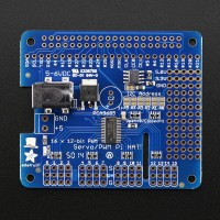 16-Channel 12-bit PWM/Servo HAT for Raspberry Pi Mini Kit