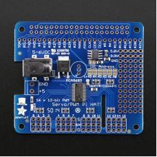 16-Channel 12-bit PWM/Servo HAT for Raspberry Pi Mini Kit
