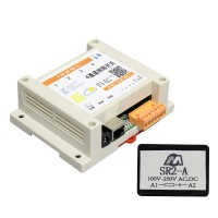 4-channel Network Relay Switch WEBSoftware Temperature Humidity Control with Surge Suppressors