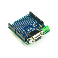 RS232 RS485 Shield for Arduino Convert UART RS232 RS485 Communication Module