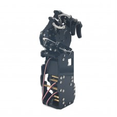 Robot Mechanical Arm Claw Humanoid Left Hand Five Fingers with Servos for Robotics DIY Assembled