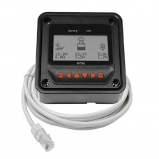 MT50 Remote Meter for Solar Charge Controller Regulator RJ45 Cable