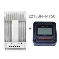 Tracer 2215BN MPPT Solar Charge Controller Regulator 20A 12V/24V with Remote Meter MT-50