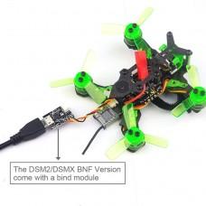 Happymodel Mantis85 85mm FPV Racing Drone w/ Supers_F4 6A BLHELI_S 5.8G BNF DSM2/DSMX Version