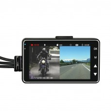 Verhicle Traveling Data Recoder Dual Camera DVR Camcorder Video Car 720P HD Dual MT-80