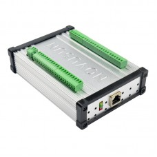High Level Ethernet MACH3 4-Axis CNC Controller Interface Board Card 1MHz Output