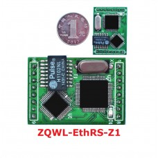 ZQWL-EthRS-Z1 Module Server 2-channel TTL to Network 485 232 Modbus TCP to Modbus RTU