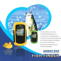 Lucky Wireless Sonar Fish Fishing Finder Portable Alarm 40M/130FT Depth Ocean River