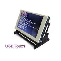 "7"" USB Capacitive Touch Screen 800x480 LCD HDMI Raspberry Pi 2 B/B+ With Bracket"