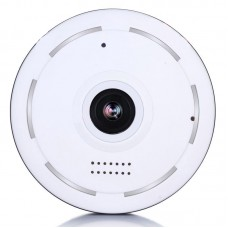 Mini 360 Degree VR Panoramic Wireless Wifi IP Fisheye Camera Two Way Audio for Home Security
