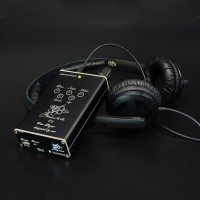 Walnut V2s English Voice Prompts HiFi Lossless MP3 Player Headphone AMP Amplifiers