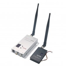 Fox-215B 1.5W 1.2G FPV Transmitter Receiver 1.5W Kit for RC Aircaft Multirotor Helicopte