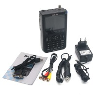 SATLINK WS-6906 Digital Satellite Signal Finder Meter 3.5 inch LCD DVB-S FTA Data