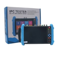 "IPC9800 MOVTADHS Plus 7"" IP CCTV Tester Monitor IP Camera Tester H.265 4K Video Testing Support ONVIF Wifi POE Android System"