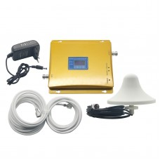 LCD Display GSM 900MHz 4G LTE DCS1800 MHz Dual Band Mobile Signal Amplifier Repeater