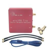 VNA 1M-3GHz Vector Network Analyzer MiniVNA Tiny+ VHF/UHF/NFC/RFID RF Antenna Analyzer Signal Generator SWR/S-Parameter/Smith