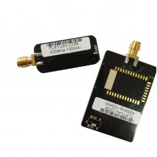 1 Pair PlayUav 433MHz-100mW Wireless Data Transceiver Moduel Transmitter Receiver 5db Small Antenna