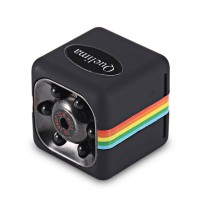 Quelima SQ11 Mini Camera 120 Degree FOV 1080P HD DVR Camcorder with Night Vision