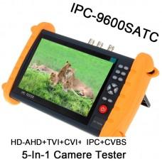 "IPC9600SATC 7""Touch Screen Onvif IP HD-AHD/TVI/CVI Analog CCTV Camera Tester"