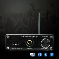 CSR4.2 BL-MUSE-01 HiFi Wireless Bluetooth Audio Receiver With Adapter