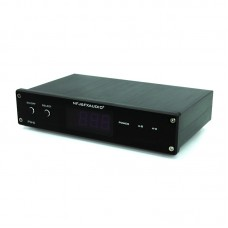 PW-6 HIFI Amplifier Speaker Switch 10A 300W with Adapter and Controller