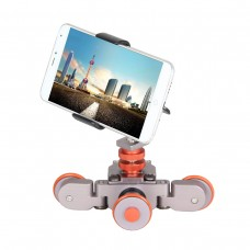 L3 Camera Desktop Photography Car 3-wheel Auto Dolly Smart Car for SLR Camera iPhone