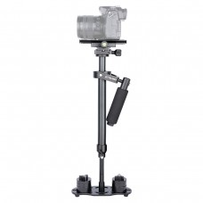 S60N Aluminum Alloy Photography Handheld Steady Stabilizer 360° for SLR Camera
