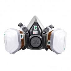 3M 620P Facepiece Suit Respirator Painting Spraying Face Gas Mask