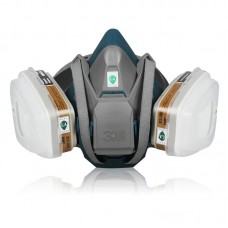 3M 650P 7PCS Suit Respirator Painting Spraying Face Gas Mask
