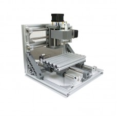 Mini CNC 1610 + 500mw laser CNC engraving machine Pcb Milling wood router