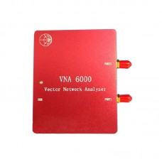 6G Vector Network Analyzer Dual Ports VNA6000 Bluetooth Wifi 2.4G 5.8G Antenna Analyzer Signal Generator
