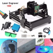 Mini Engraving Machine with 10W Laser Steel Iron Stone Engraver Image GRBL Printer