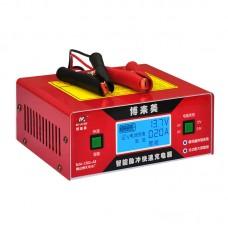 6V/8/12/16/24V Car Intelligent Pulse Battery Charger Fast Charging 150V-250V