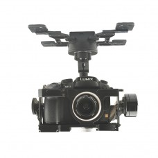 HG3D+ Universal 3-axis Gimbal for GH3 GH4 GH5 Aircraft 12V Remote Controller Shutter