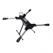 MH-H4 H8 680/700mm Aluminum/Fiberglass Folding 4-Axis Quadcopter Frame Kit with Landing Gear