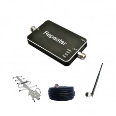 Mobile Signal Repeater Booster Amplifier 20A CDMA 2G/3G/4G Kit Inddor Outdoor Antennas