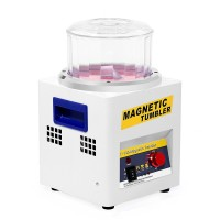Magnetic Tumbler KT185 180mm Jewelry Polisher Super Finishing Machine 110V/220V