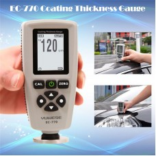 EC-770 Professional LCD Digital Coating Film Paint Thickness Gauge Meter G0