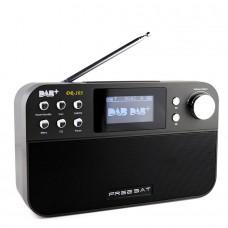 "Freesat DR-103 Digital Radio Receiver 2.4"" Black White Display Receptor Support DAB+/FM RDS Wavebands Radio"