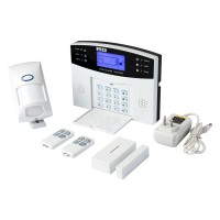 CS85F GSM-LCD Wireless 433 Smart Voice Home Security House Anti-theft Burglar Alarm System