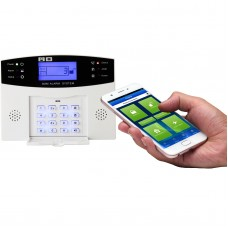 CS85A GSM-LCD Wireless 433 Smart Security Home House Anti-theft Burglar Alarm Panel