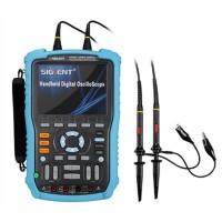Siglent SHS806 Handheld Digital Oscilloscope 60MHz 2CH 1GSa 5 TFT USB Multimeter