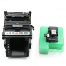 Fujikura 80S Fiber Optic Fusion Splicer Kit for SM MM DSF NZDSF Fibers PON/FTTx
