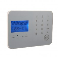 CS6 LCD GSM+PSTN Dual Network Anti-theft Alarm VoiceTouch Smart  Home Security