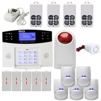 CS85-BA GSM-LCD 433 Wireless Home Anti-theft Anti-pet Alarm House Security Smart Voice