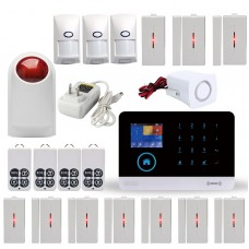 CS88-AB WIFI+GSM+RFID Smart Voice Home Anti-theft Alarm House Security