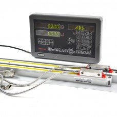 SINPO 2 Axis Digital Readout DRO with JCXE1 Linear Scales Kit for Milling Machine