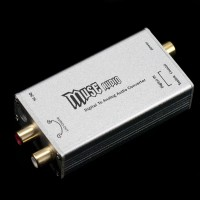 Z4 Digital Decoder Audio Converter HIF DAC Fiber Coaxial Signal Input to Analog Output
