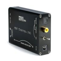 TDA1543x4 DAC Decoder Parallel Coaxial Optical Fiber Signal Input to Analog Output